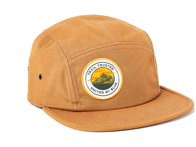 United By Blue Trail Trusted 5-Panel Czapka, khaki